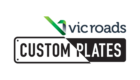 FOR PARTNERS Vic Road Custom Plates Logo